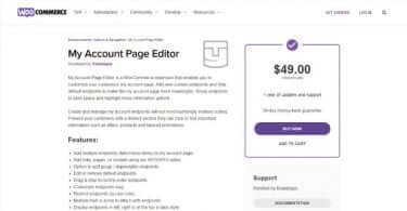 WooCommerce My Account Page v1.0.12 Plugin