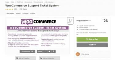 WooCommerce Support Ticket System v13.4